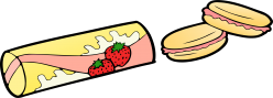 strawberry-snacks-vector-clipart